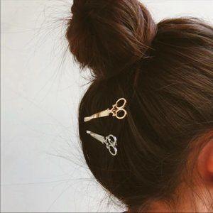 Scissor Hair Pins 2 pc